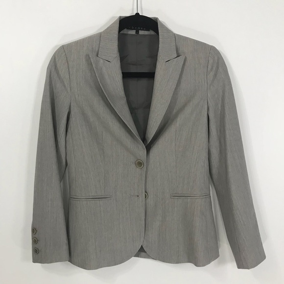 Theory Women's Grey Blazer